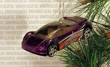 AUDI AVUS QUATTRO CONCEPT CAR PURPLE CHRISTMAS ORNAMENT XMAS