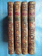 CARMONTELLE : THEATRE DE CAMPAGNE, 1775. 4 vol. (Chat Perdu, Dom Quichotte...).