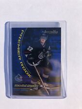Daniel Sedin Rookie Card Topps Premier Rookie Limited  #250  Rc 2000 2001