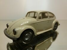WIKING VW VOLKSWAGEN BEETLE - GREY/WHITE  1:40 - NICE CONDITION