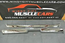 1973 Plymouth Cuda Premium Chrome Front & Rear Bumpers with Jack Slots