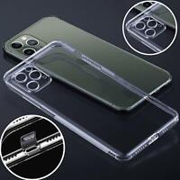Handy Hülle Transparent TPU Schutzhülle Silikon Case Cover Schutz Bumper Tasche