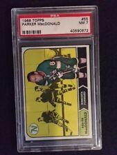 1968-69 Topps Hockey Cards #55, Parker MacDonald,  PSA 7, Really Sharp Card!!!