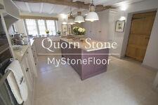Dijon Limestone Tumbled Flagstone Floor Tiles - CHEAPEST ON EBAY