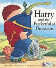 Harry and the Bucketful of Dinosaurs (Harry and the Dinosaurs)-ExLibrary