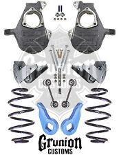 GMC Yukon 3/5 Lowering Kit 2000-2006 Spindles Coils Keys McGaughys