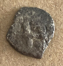 SPAIN 1/2 REAL COB POSOTI SPANISH SILVER VERY NICE OLD COB COLONIAL COIN LC4