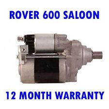 ROVER 600 SALOON 618 620 623 1993 1994 - 1996 REMANUFACTURED STARTER MOTOR