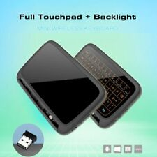 H18+ 2.4GHz Wireless Mini Keyboard Full screen QWERTY Keyboard Touchpad Mouse