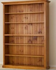 Australian  Made Solid Timber Adjustable Bookcase (7X3) - 2100(H) x 1200(W)