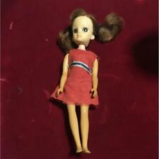 Takara 1st Generation Licca Rika chan with clothes used Japan