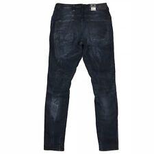 G-Star Womens Jeans Davin 3D Low Boyfriend Stretch Dark Aged Size 25x28