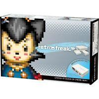 Cyber Gadget Retro Freak Controller Cartridge Adapter Set CY-RF-B New from Japan