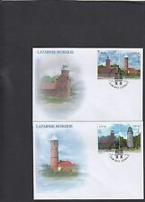 Poland  2013 Lighthouses First Day Cover FDC