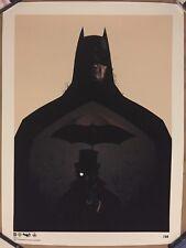 Olly Moss Batman Penguin Print Forbidden Planet Exclusive Rare Mondo NUMBER 1/50
