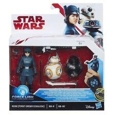 Figura De Star Wars Force Link 2 Pack Rose (primera orden Disfraz) + BB-8 + BB-9E