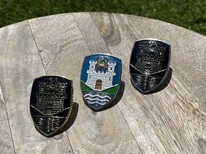 VW Early Volkswagen Beetle Bug Hood Emblem Crest Badge Wolfsburg Castle