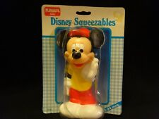Playskool Mickey Mouse Squeezable 1986