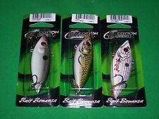 """Cordell Rattle Spot Rattle Trap - Glitter Shad, Bass & Wounded Shad 3"""" (3 Pk)"""