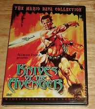Mario Bava Collection DVD KNIVES OF THE AVENGER Cameron Mitchell NEW UNCUT!!!