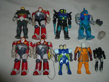 G1 TRANSFORMERS PRETENDERS LOT BUGLY SKY HIGH DOUBLEHEADER SUBMARAUDER WAVERIDER
