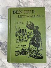 "circa 1920 Antique Classic Book ""Ben Hur"""