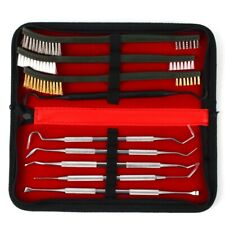 9X Gun Cleaning Kit For Rifle Pistol Handgun Shotgun Cleaning Set Gun Brush