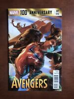 Avengers 100th Anniversary #1 (2014) 9.2 NM Variant Edition High Grade Key Issue