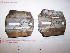 PIONEER 550 CHAINSAW ORIGINAL BAR GUARDS