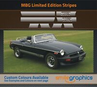 MGB Limited Edition Stripe Kit Stickers decals - Other colours available