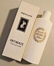 Vintage 1960s Revlon Intimate TALCUM 4 oz NOS - NEW --  1713