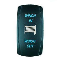POLARIS RZR 800 XP900 Dual BackLit BLUE LED MOM WINCH Rocker Switch ON OFF