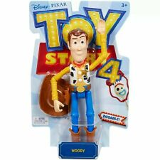 Disney Pixar Toy Story 4 Woody Action Figure New Posable Woody NEW