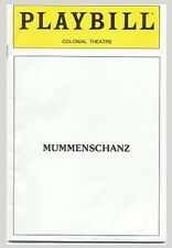 1983 MUMMENSCHANZ Playbill – Colonial Theatre
