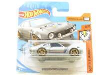 Hotwheels Custom Ford Maverick Silver 98/250 Short Card 1 64 Scale Sealed