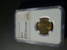 Korea Südkorea South Korea 10 Won 1970 NGC MS 64 (Brass)