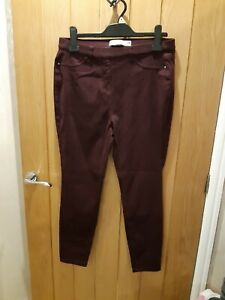 Ladies Berry Jeggings From Next Size 14