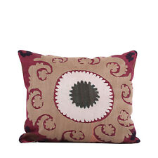 """14.17"""" x 16.14"""" Pillow Cover Suzani Pillow Vintage FAST Shipment With UPS 10195"""