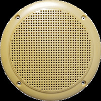 "Marinavox 5"" Full Range Desert Audio Speaker VX155 TAN Boat Spa PAIR ARIZONA NEW"