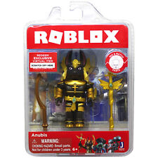 "ROBLOX ANUBIS 4"" Figure Sword Staff Mix N Match Virtual Code 2019 Brand New #181"