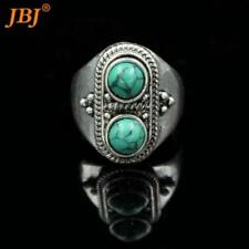 Alloy Turquoise Statement Fashion Rings