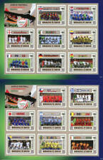 Mint Never Hinged/MNH Football Guyanese Stamps