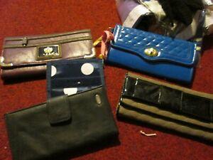 purses wallet Coin purse Cash Money handheld long zip Card Button Clutch Purse