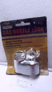 ACAR GAS BOTTLE LOCK WITH TWO KEYS