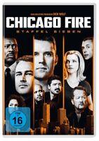 CHICAGO FIRE-STAFFEL 7 - JESSE SPENCER,TAYLOR KINNEY,LAUREN GERMAN  6 DVD NEU