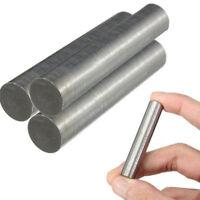 99.95% Wolfram Tungsten Wolframstab Stab Stange Rundstab Ø10mm 50mm Silber