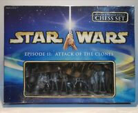 Star Wars Chess Set Episode 2 Attack of the Clones/The Clone Wars/100% Complete