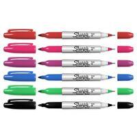 #363 Sharpie Color Burst Permanent Marker Ultra Fine Assorted 5-Pack Lot of 3