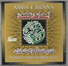 THE NAMES OF HAZARAT MUHAMMAD(P.B.U.H) ASMA-E-HUSNA - NEW NAAT CD - FREE UK POST