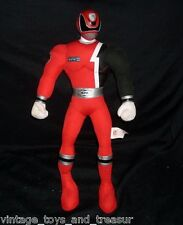 "16"" RED POWER RANGERS BANDAI STUFFED ANIMAL PLUSH TOY SOFT DOLL FIGURINE FIGURE"